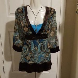 Ladies boho-style blouse